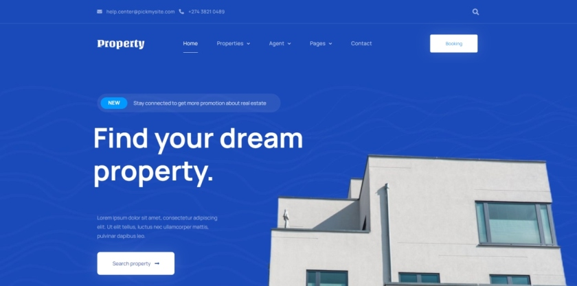 pickmysite-real-estate-property-template