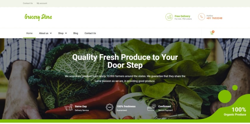 pickmysite-food-grocery-store-template