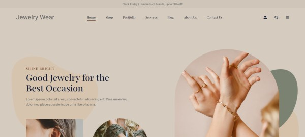 Jewellery-Store-–-Just-another-PickMySite-site