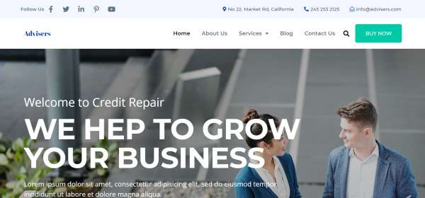 Business-Consultants-and-Financial-Advisers-–-Just-another-PickMySite-site