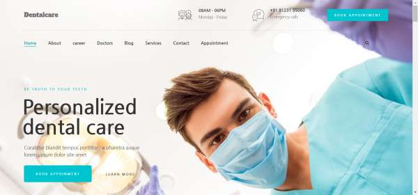 Dentist-Dental-Clinic-–-Just-another-PickMySite-site