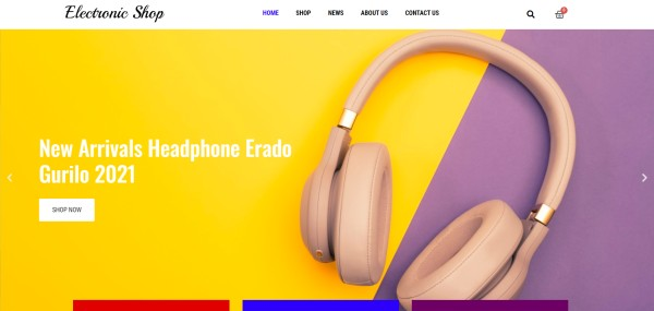 Electronic-Shop-–-Just-another-PickMySite-site
